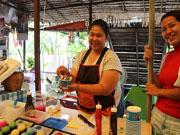 Плавучий рынок Bang Nam Phueng Floating Market рядом с Бангкоком