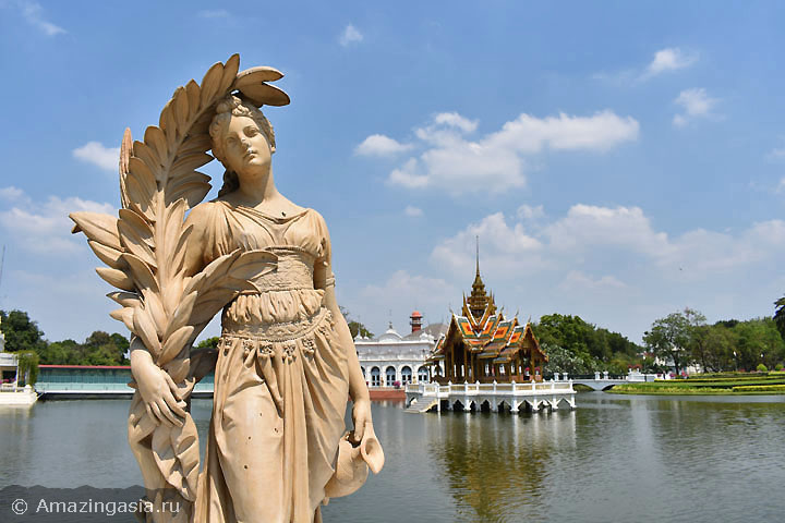 Лучшие дворцы и музеи Бангкока. Дворец-музей Банг Па Ин.
