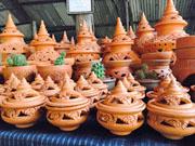 рынок народности мон рядом с Бангкоком