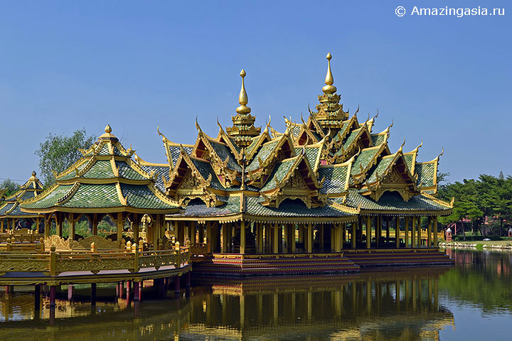 Фотографии парка Муанг Боран (Muang Boran), Бангкок. Pavilion of the Enlightened.
