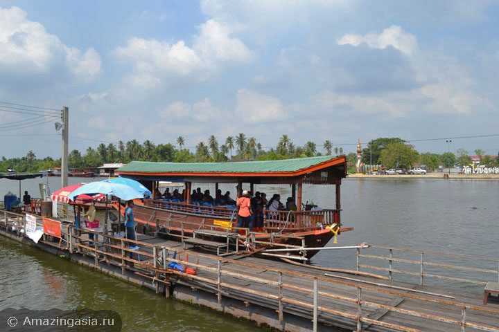Don Wai floating market, Nakhon Pathom