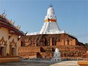 Древняя чеди Пхра Пратхон, провинция Накхон Патхом (Nakhon Pathom)