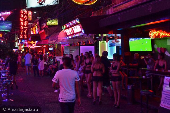 Ночная жизнь в Бангкоке и секс-туризм в Бангкоке. Сой Ковбой.