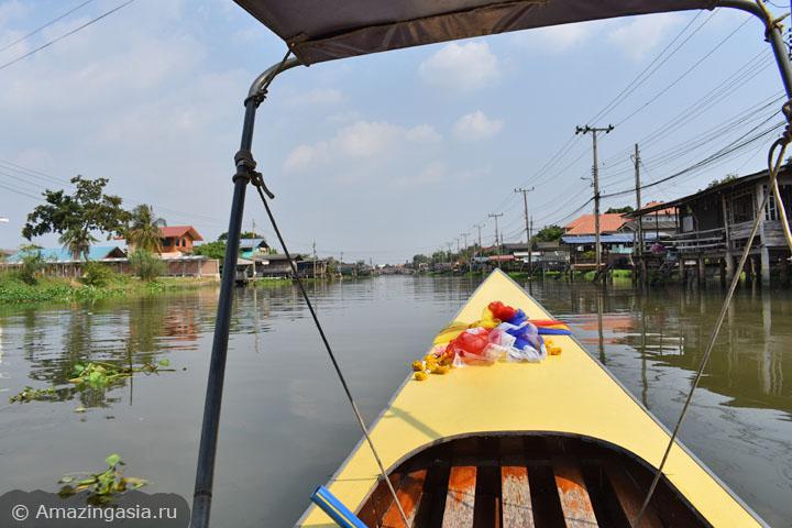 Фото провинции Нонтхабури. Протоки реки Чао Прайя.