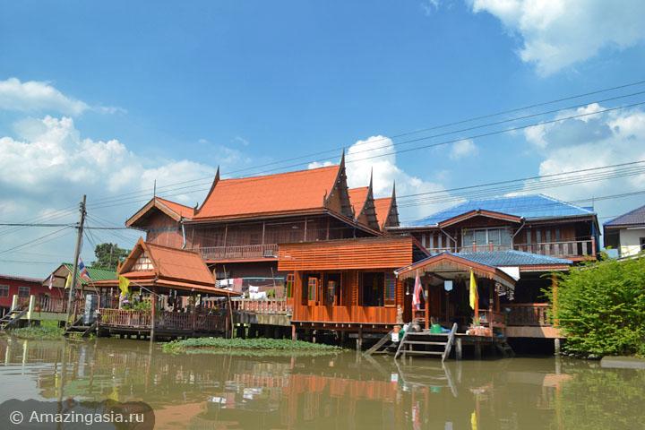 достопримечательности рядом с Бангкоком, клонги провинции Нонтхабури