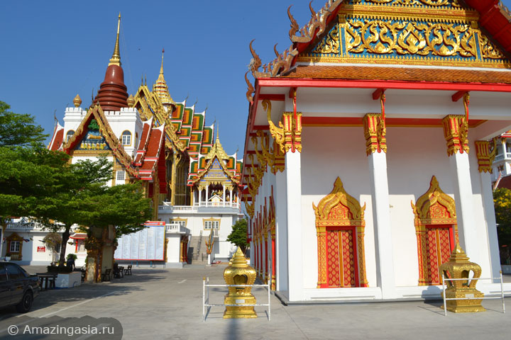 Фотографии достопримечательностей Нонтхабури. Храм Wat Laharn.