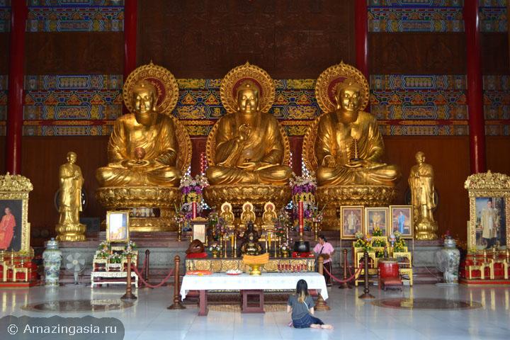 куда съездить на день из Бангкока, храмы провинции Нонтхабури.