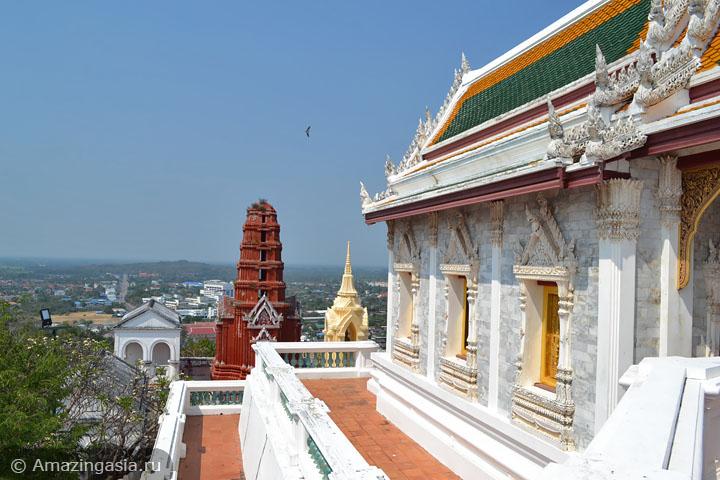 Что посмотреть в Петчабури. Исторический парк Phra Nakhon Khiri.