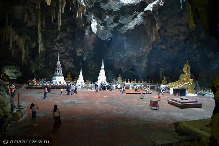 Что посмотреть в Петчабури. Гигантская пещера Као Луанг.