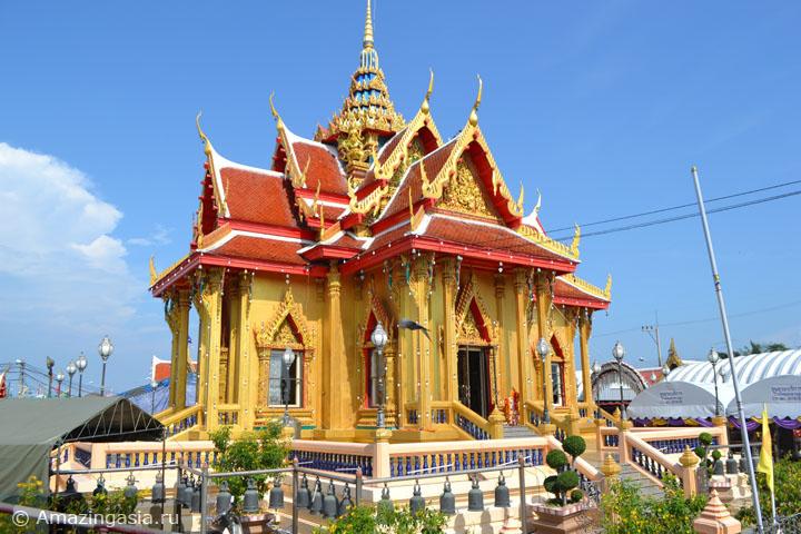 Что посмотреть около Петчабури. Храмы города Бан Лаем.