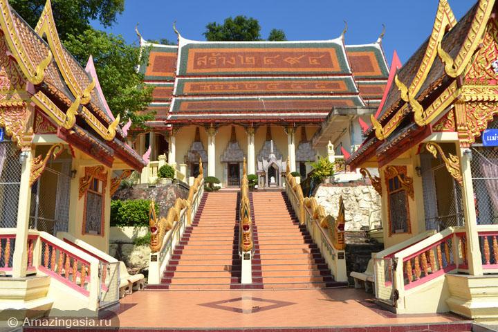 Фотографии Петчабури. Храм Wat Khao Takrao.