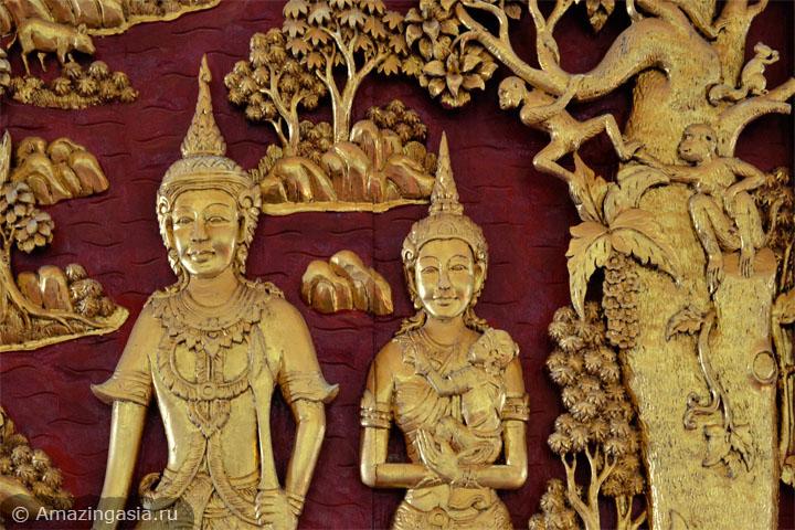 Достопримечательности провинции Петчабури. Храм Wat Tanod Luang.