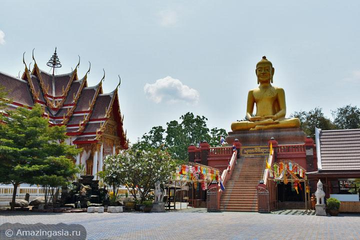 Что ещё посмотреть в Ратчабури. Буддистский храм рядом с древнем городом Кху Буа.