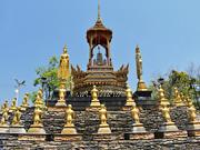 Храм Ват Банг Кхае Ной, провинция Самут Сонгкрам (Samut Songkhram)