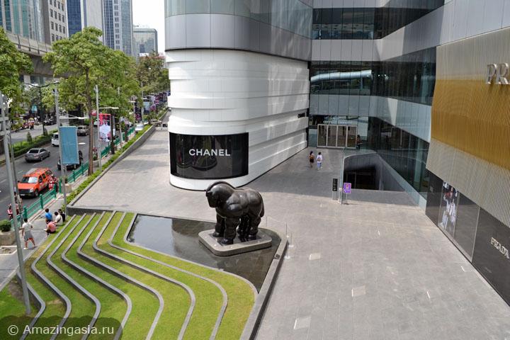 Десять лучших торговых центров Бангкока. ТЦ Central Embassy.