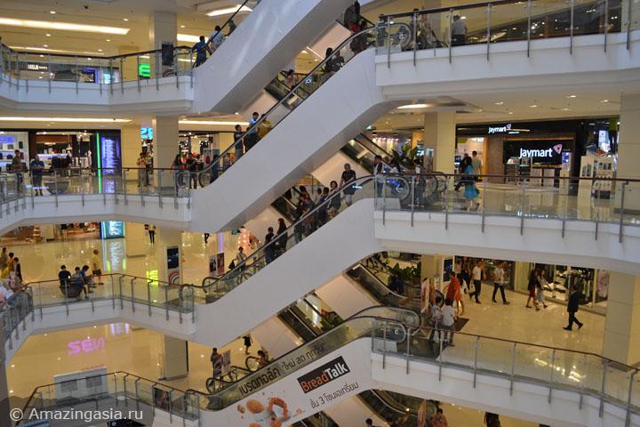Лучшие торговые центры Бангкока. Где купить спортивную одежду в Бангкоке. ТЦ Central World.