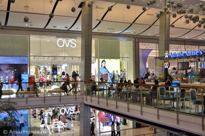 Торговые центры Бангкока. Где купить европейскую одежду в Бангкоке. ТЦ Central World.