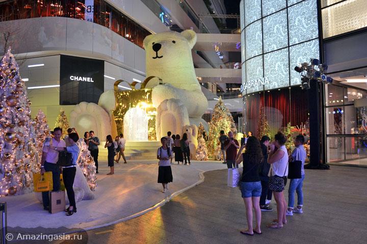 Торговые центры Бангкока. Где купить итальянскую одежду в Бангкоке. ТЦ Emporium.