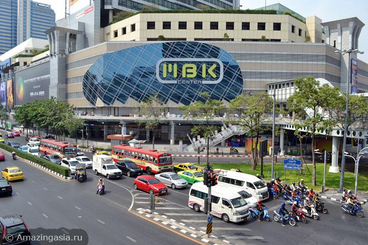 Десять лучших торговых центров Бангкока. ТЦ MBK.