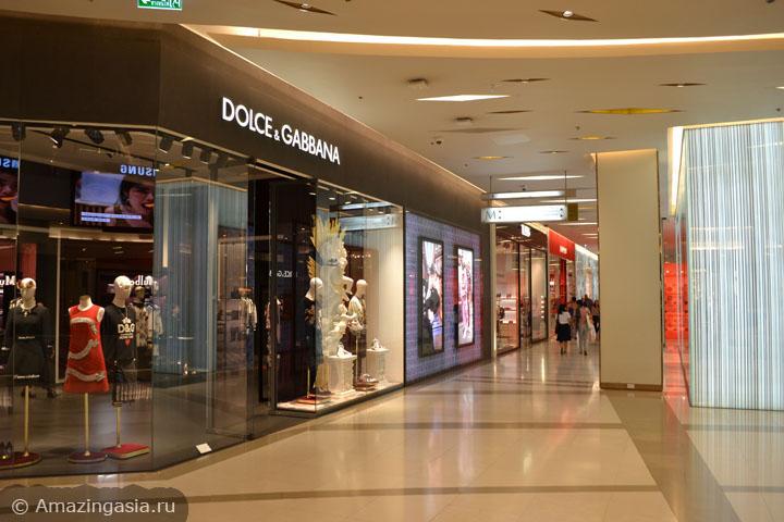 Топ-3 торговых центров Бангкока. Где купить итальянскую одежду в Бангкоке. ТЦ Siam Paragon.