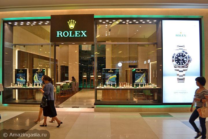 Топ-3 торговых центров Бангкока. Где купить часы в Бангкоке. ТЦ Siam Paragon.