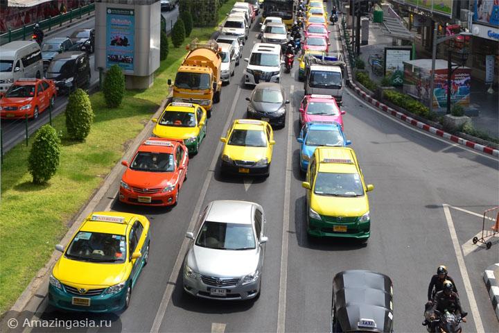 Из Бангкока в Ча Ам на такси