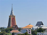 Храм Ват Дхаммамонгкол, самый высокий храм Бангкока