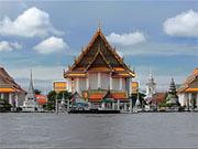 Храм Ват Калаянамит в центре Бангкока