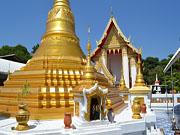 Храмы острова Ко Крет, 10 км. от Бангкока