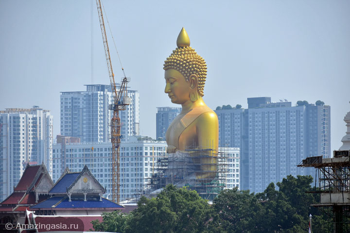 Фотографии храма Ват Пак Нам (Wat Pak Nam, Wat Paknam), Бангкок