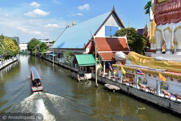 Что посмотреть рядом с храмом Ват Пак Нам (Wat Paknam), Бангкок