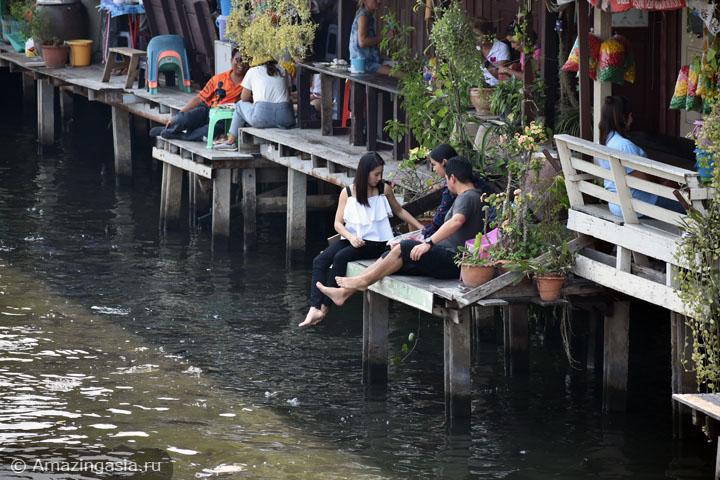 Фотографии лучших плавучих рынков Бангкока. Рынок канала Клонг Банг Луанг.