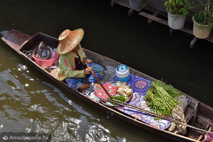 Лучшие плавучие рынки Бангкока. Плавучий рынок Банг Луанг.