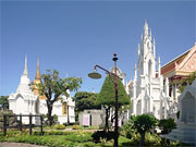 Храм Ват Ратчабопхит в центре Бангкока