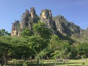Парк в скалах к северу от Хуа Хина