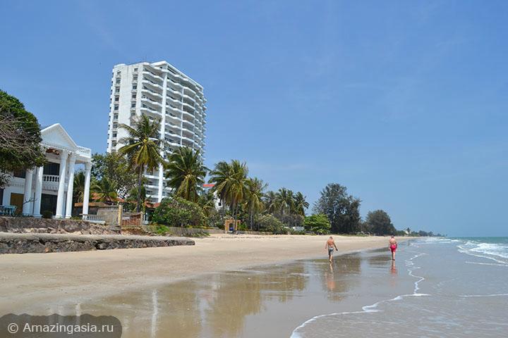 Фотографии пляжей Ча Ама (Cha Am), пляж к северу от Ча Ама