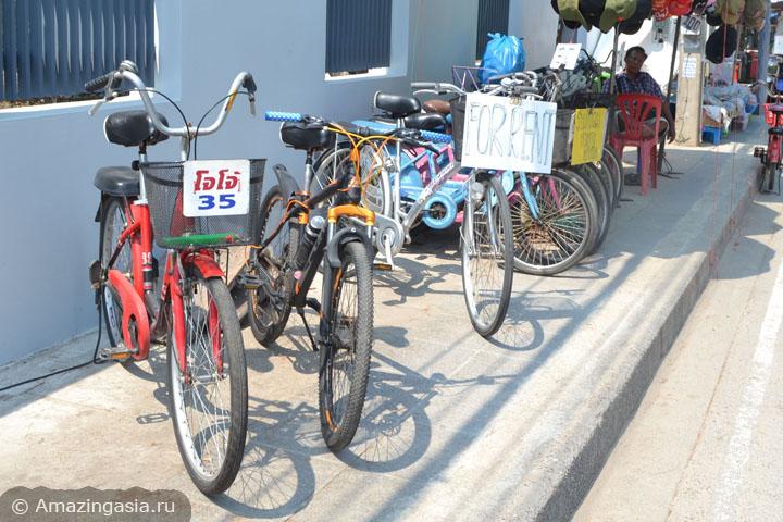 Аренда велосипедов и мотобайков в Ча Аме (Cha Am), фото пункта проката