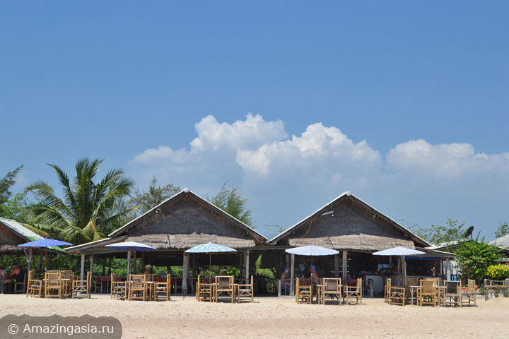 Фотографии пляжей Ча Ама (Cha Am), пляж к югу от Ча Ама