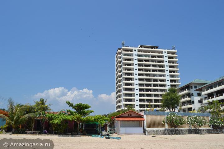 Фотографии пляжей Ча Ама (Cha Am), пляж южнее Ча Ама