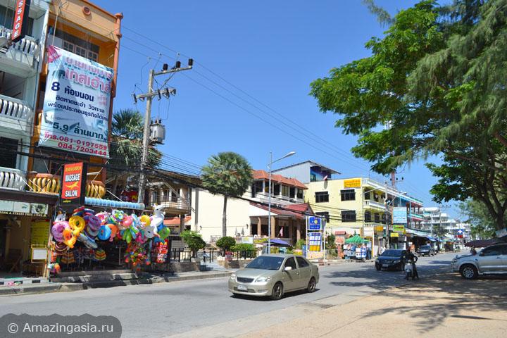 Фото магазинов Ча Ама (Cha Am), Бич Роуд, с лавками и ресторанами