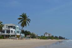 Пляж к северу от Ча Ама