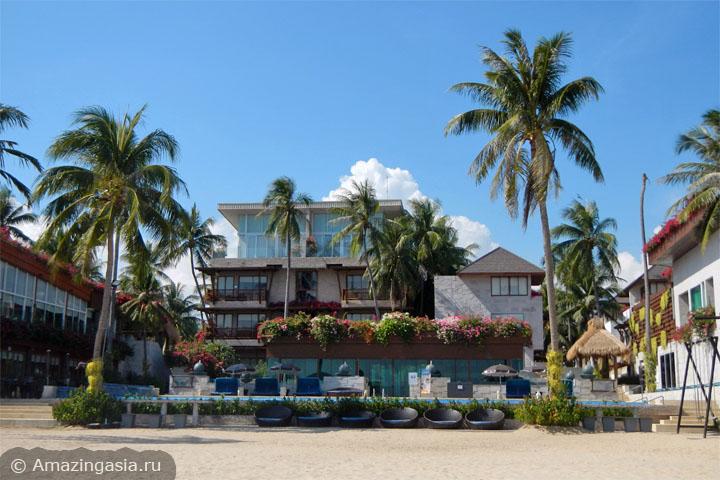 Отель Dhevan Dara Beach Villa Kuiburi рядом с национальным парком Сам Рой Йот
