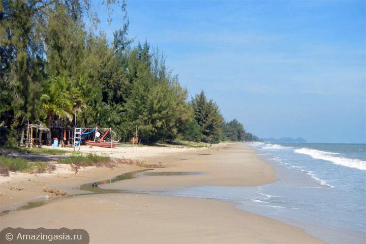 Пляж Куибури к югу от национального парка Сам Рой Йот