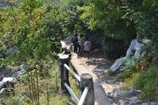 дорога к пещере Прайя Накхон