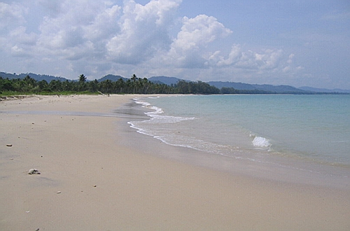 Bang Sak beach, Khao Lak