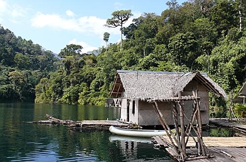 Озеро Чео Лан (Cheow Lan Lake), национальный парк Као Сок (Khao Sok)