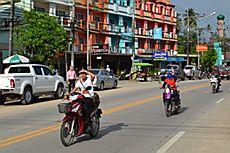 Город Аонанг (Aonang), Краби, Тайланд
