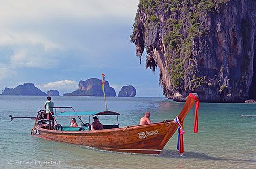 Полуостров Рейли, 10 км. от города Краби Таун (Krabi Town)