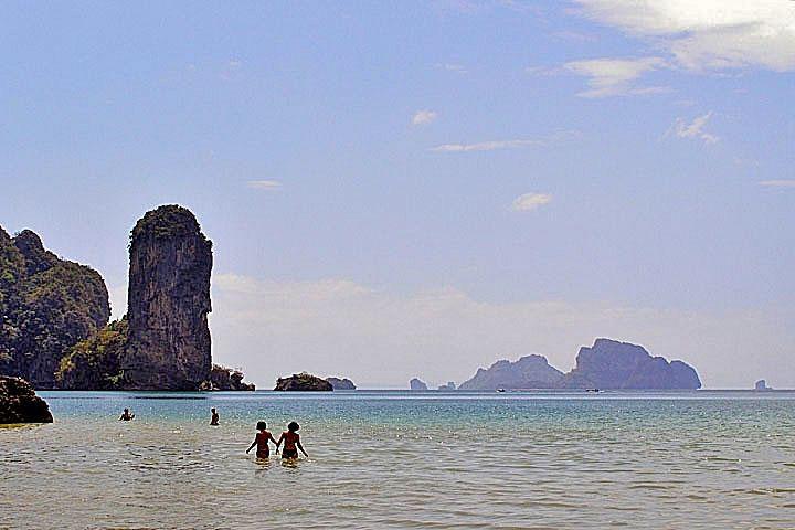 Фотографии Ао Нанга. Скалы Рейли и острова Чикен и Пода.