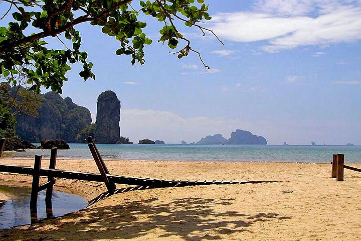 Фотографии Ао Нанга. Южная часть пляжа Ао Нанг.